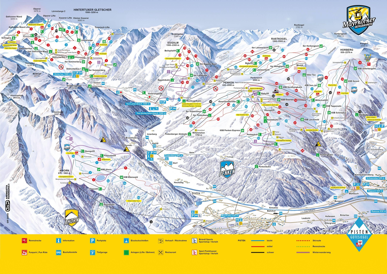 Mayrhofen – Penken / Ahorn / Rastkogel / Eggalm