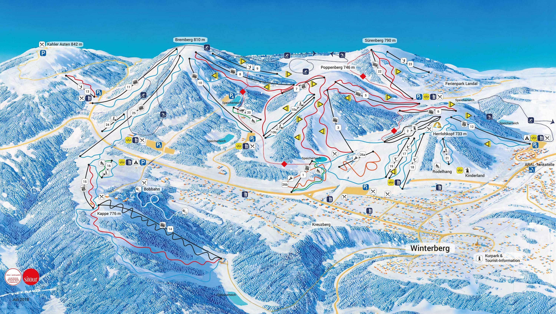 Winterberg (Skiliftkarussell)