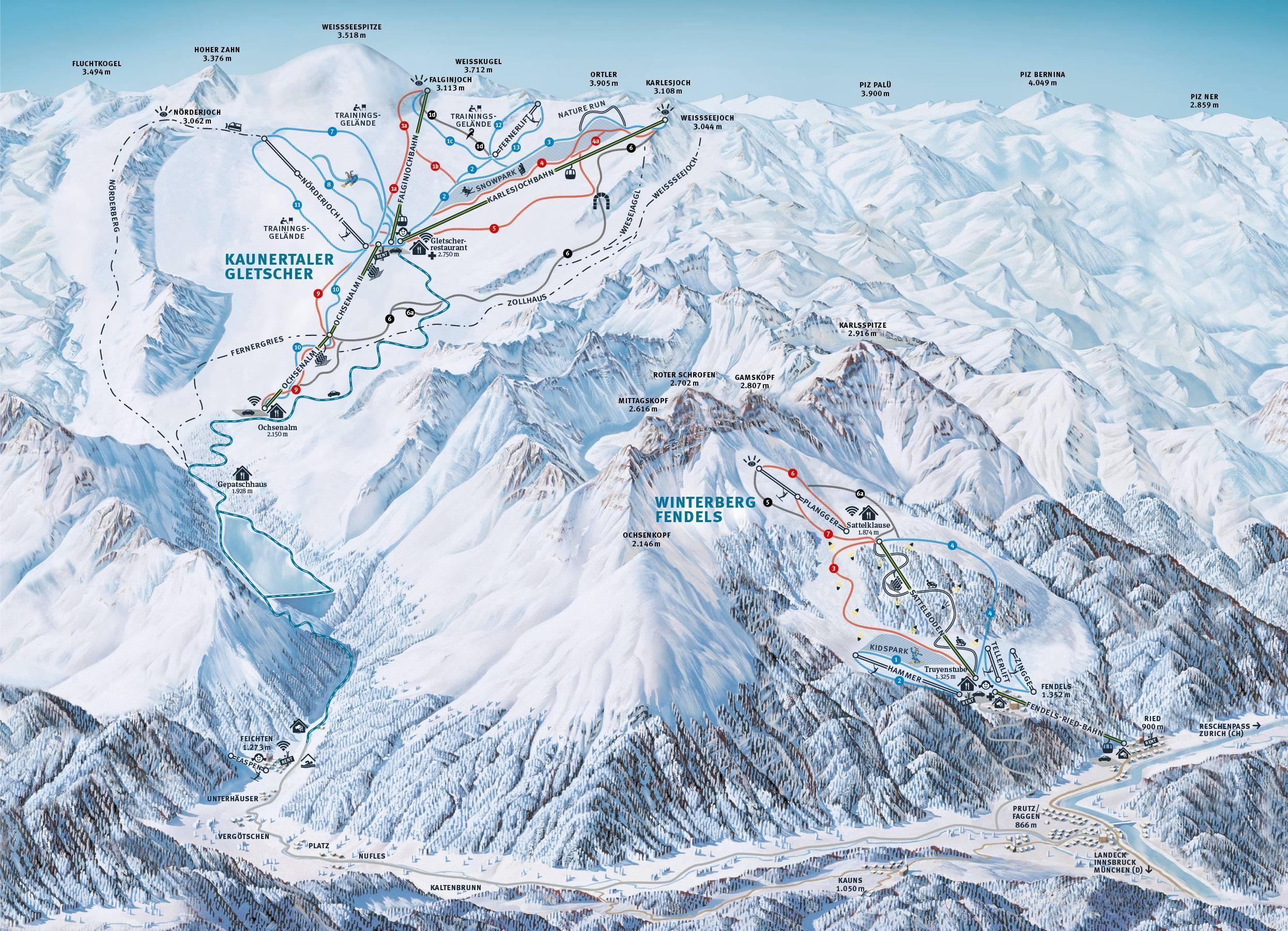 Kaunertal Glacier (Kaunertaler Gletscher)