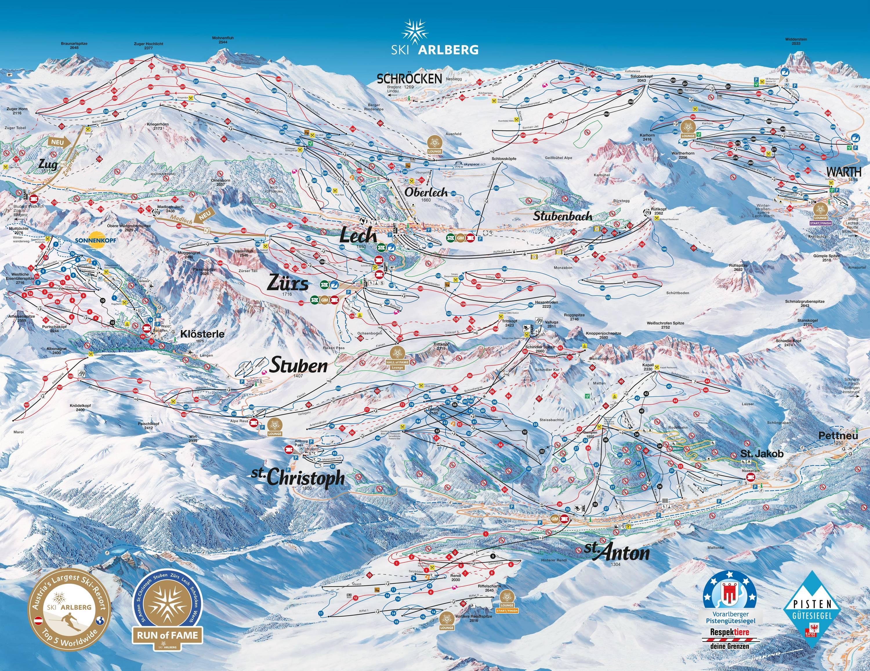 St. Anton / St. Christoph / Stuben / Lech / Zürs / Warth / Schröcken – Ski Arlberg