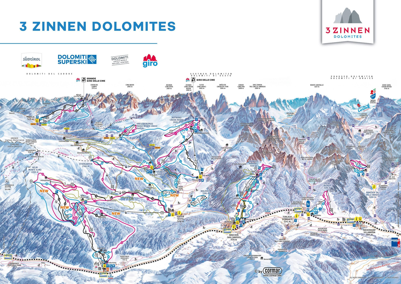 3 Zinnen Dolomites – Helm / Stiergarten / Rotwand / Kreuzbergpass