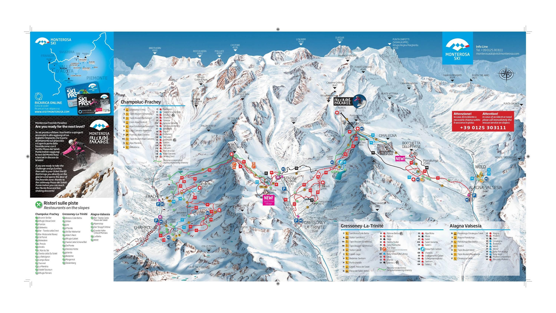 Alagna Valsesia / Gressoney-La-Trinité / Champoluc / Frachey (Monterosa Ski)