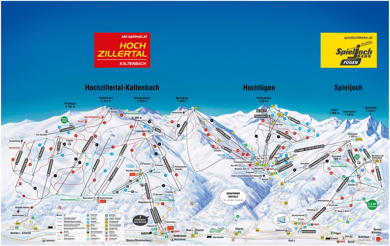 Kaltenbach – Hochzillertal / Hochfügen (SKi-optimal)