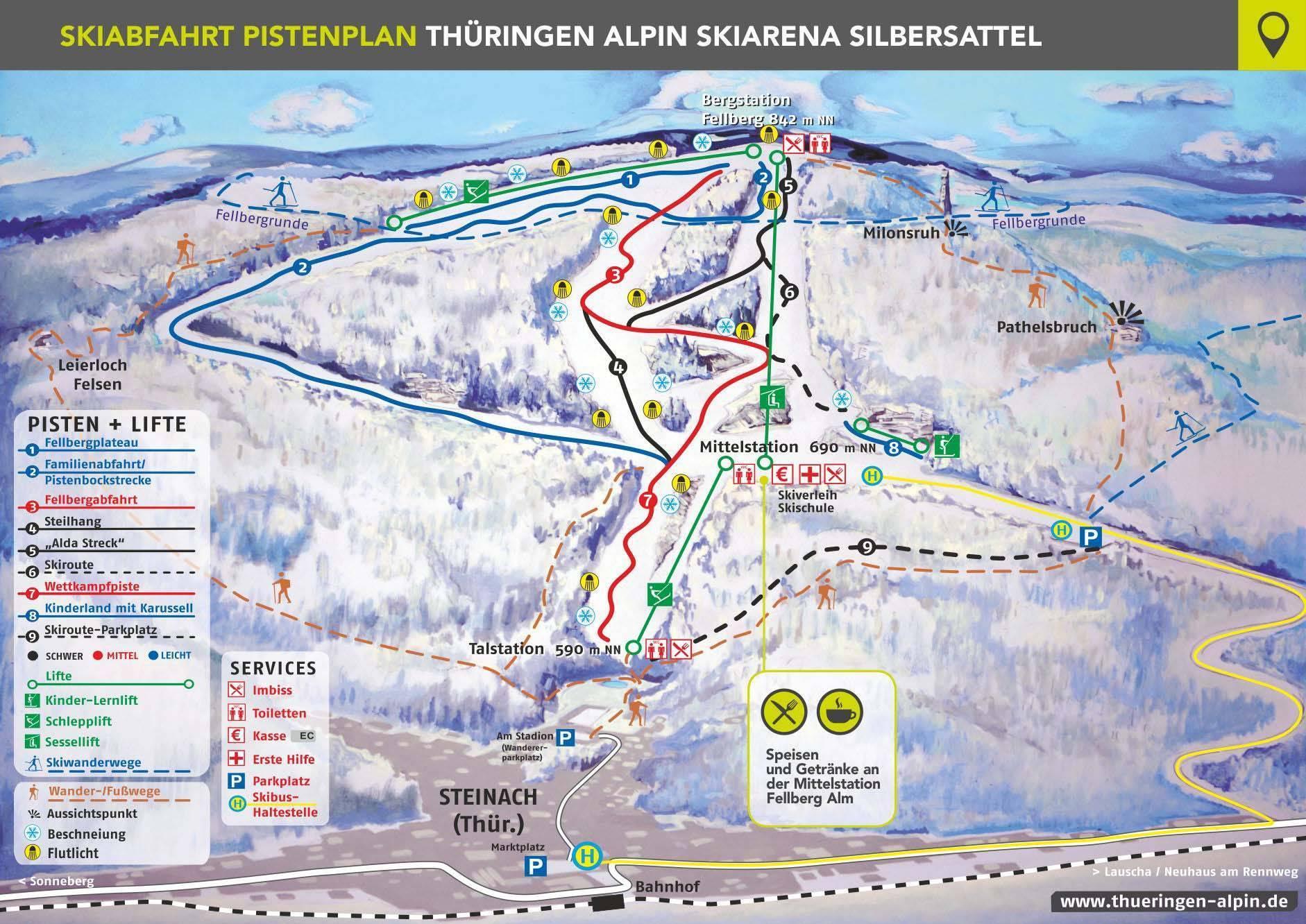 Silbersattel – Steinach