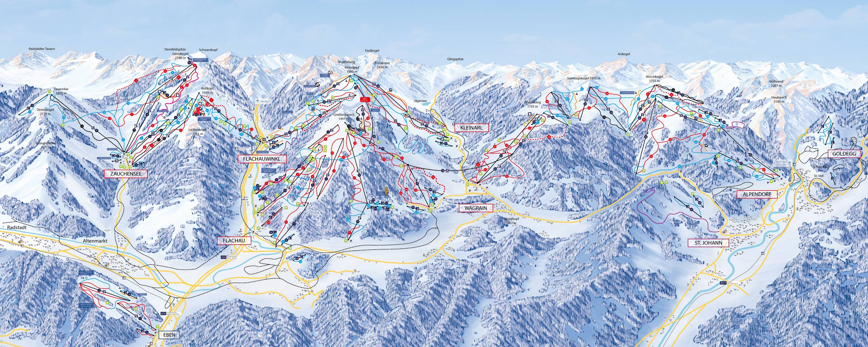 Snow Space Salzburg – Flachau / Wagrain / St. Johann-Alpendorf