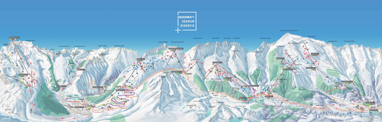 Andermatt / Oberalp / Sedrun