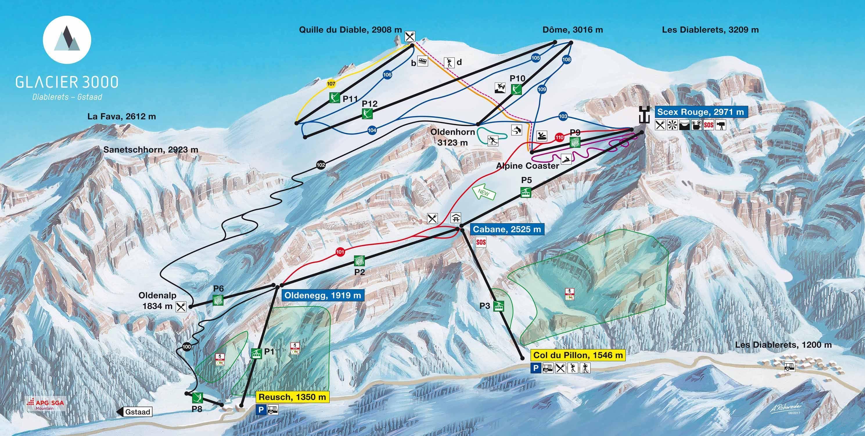 Glacier 3000 – Les Diablerets