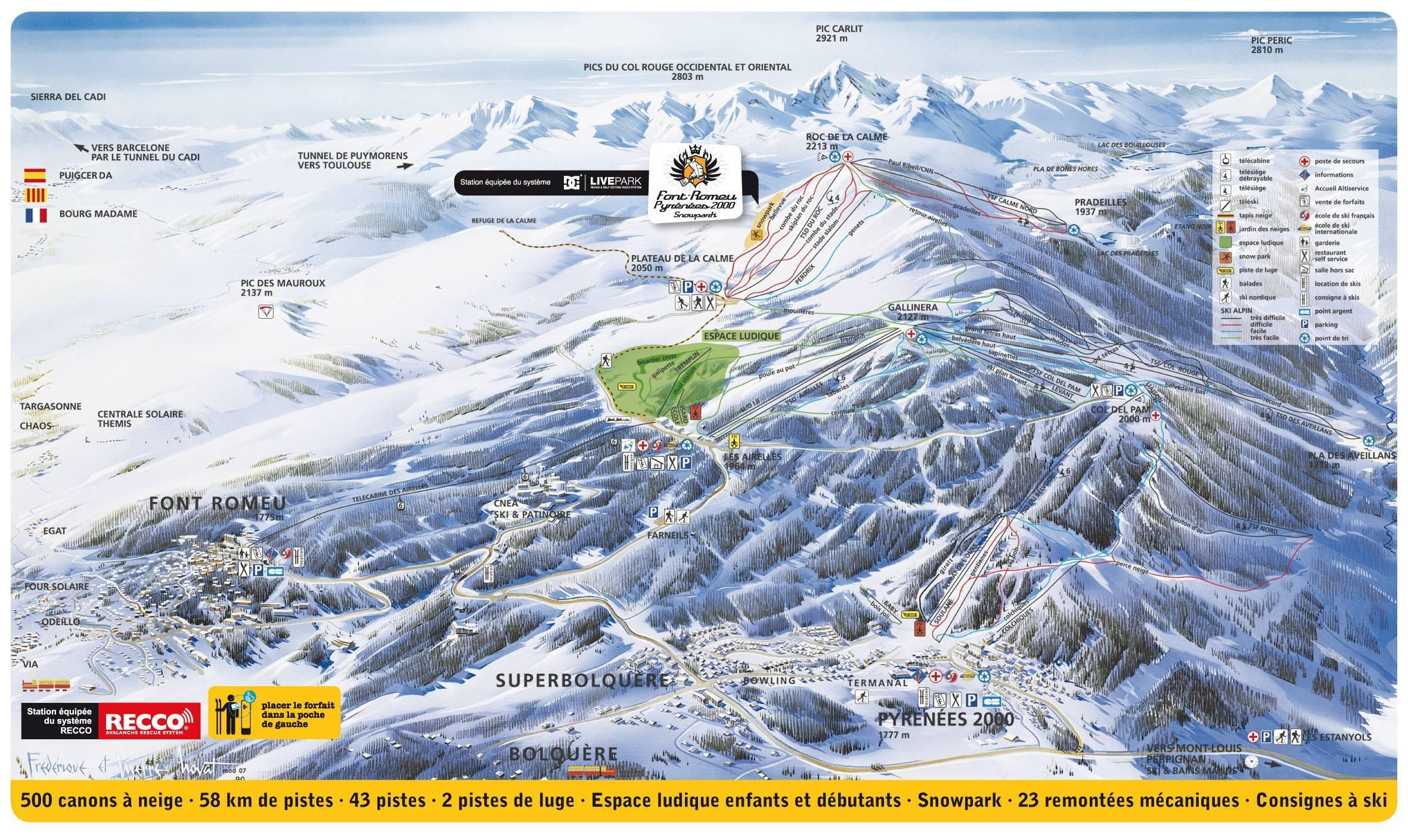 Font-Romeu / Bolquère Pyrénées 2000