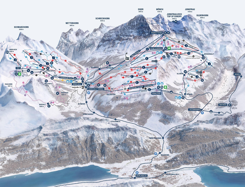 Kleine Scheidegg / Männlichen – Grindelwald / Wengen