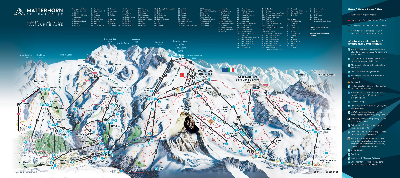 Zermatt / Breuil-Cervinia / Valtournenche – Matterhorn