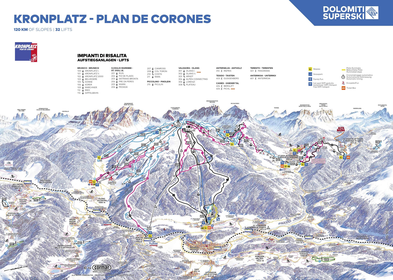 Kronplatz (Plan de Corones)