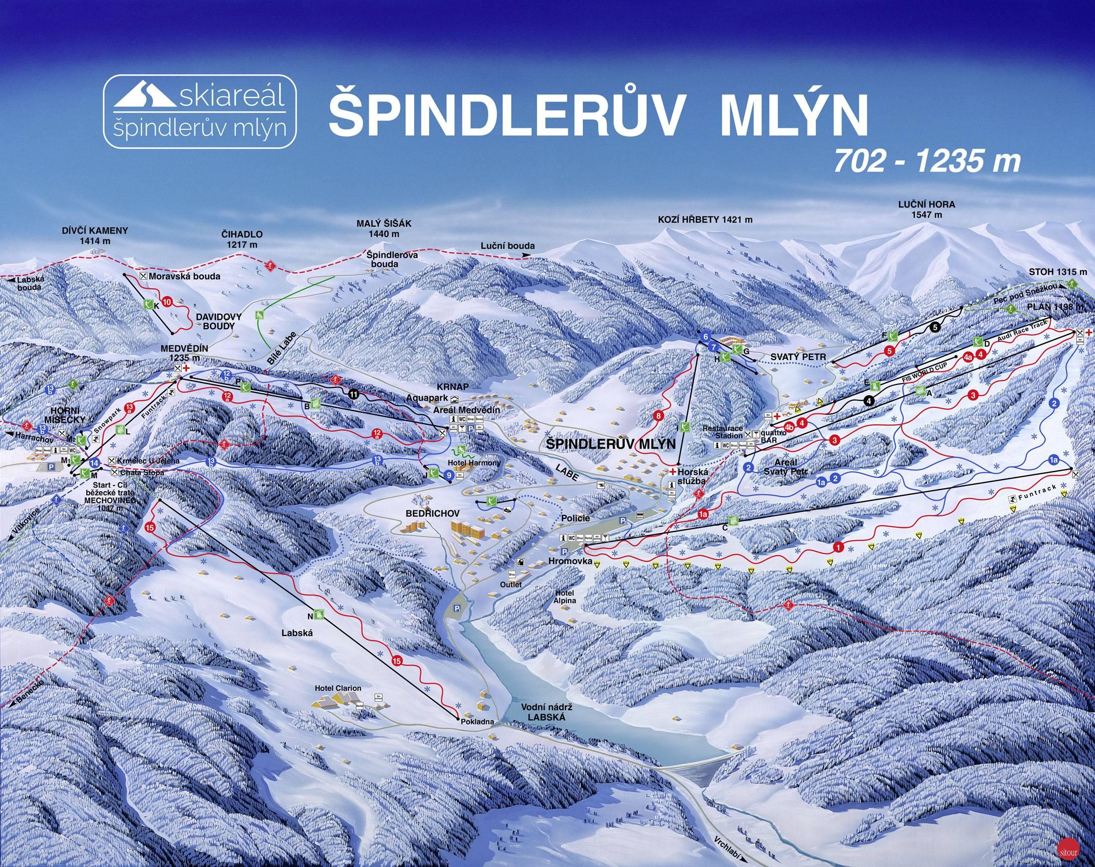 Spindlermühle (Špindlerův Mlýn)
