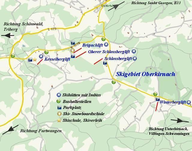 Kesselberg – Oberkirnach (St. Georgen)